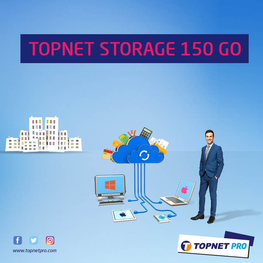 Topnet Storage 50GO - Topnet Cloud